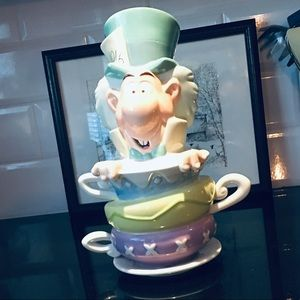 Disney- Mad Hatter Cookie Jar